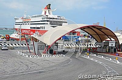 Ancona harbor Editorial Image