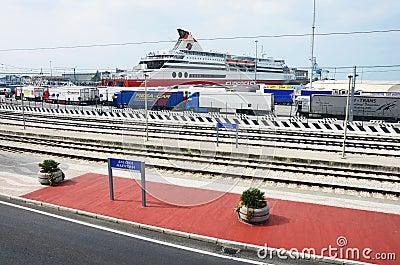 Ancona harbor Editorial Photo