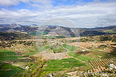Andalusia Landscape in Spain
