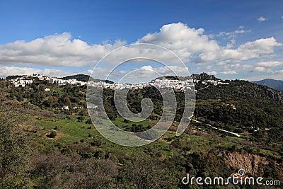 Andalusian village Gaucin, Spain