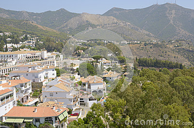 Andalusian village in the mountains