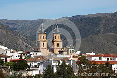 Andalusian village Orgiva, Spain