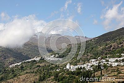 Andalusian village Pampaneira