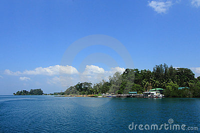 Andaman Islands of India.