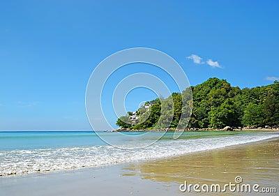 Andaman Sea coast near Kamala village