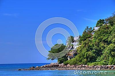 Andaman Sea coast in Puket island