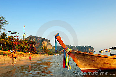 Andaman sea, Phra Nang beach