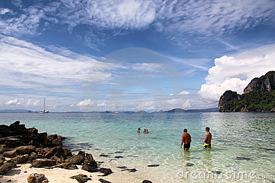 Andaman sea, Thailand Editorial Stock Image