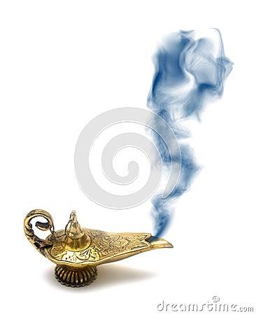 Ande i arabiska sagorlamprökning
