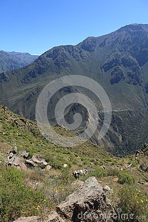 Andean Landscape in Peru