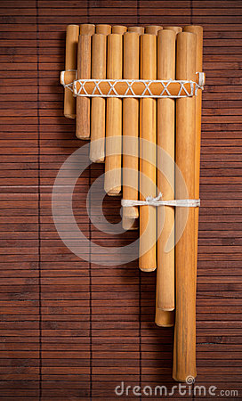Free Andean Pan Flute. Royalty Free Stock Photography - 47898187