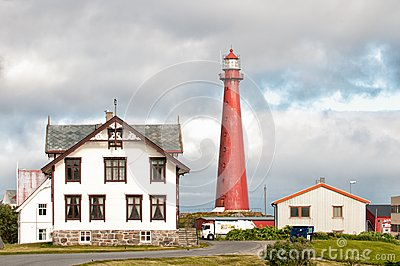 Andenes Lighthouse Editorial Stock Image