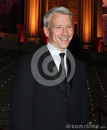 Anderson Cooper Editorial Stock Photo