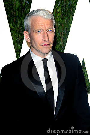 Anderson Cooper, Vanity Fair Editorial Photo