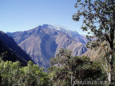 Andes on the Inca Trail