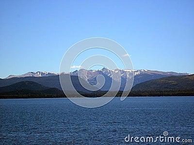 Andes mountain range
