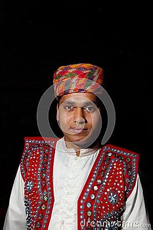 Andhra Pradesh male traditional dress Editorial Photo