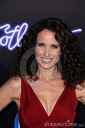 Andie MacDowell  Editorial Stock Photo