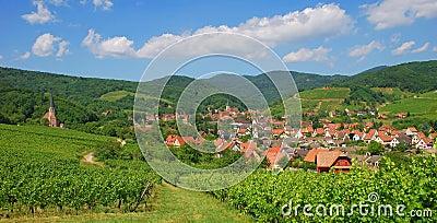 Andlau,Alsace,France