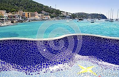Andratx port in Majorca Balearic island