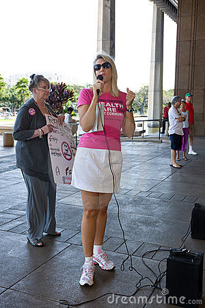 Andrea Anderson, CEO of Planned Parenthood Hawaii Editorial Image