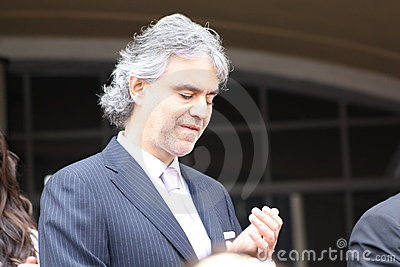 Andrea Bocelli Editorial Photo