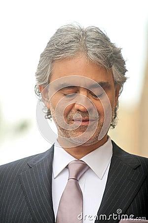 Andrea Bocelli Editorial Image