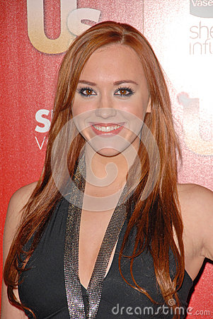 Andrea Bowen,The Used Editorial Stock Image