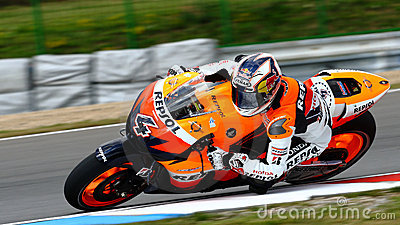 Andrea Dovizioso 4 and Repsol Honda Editorial Photography