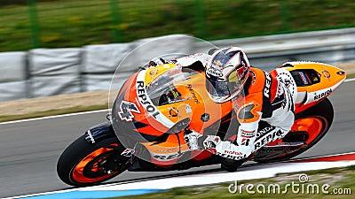 Andrea Dovizioso 4 and Repsol Honda Editorial Photography