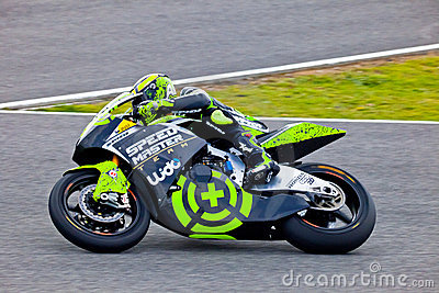 Andrea Iannone pilot of Moto2 in the MotoGP Editorial Photography