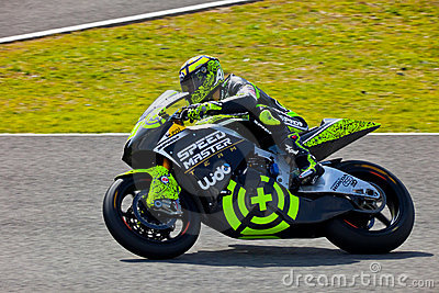 Andrea Iannone pilot of Moto2 in the MotoGP Editorial Stock Photo