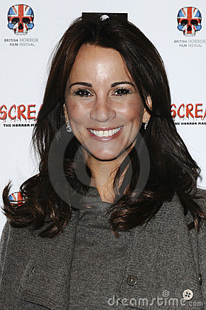 Andrea Mclean Editorial Stock Image
