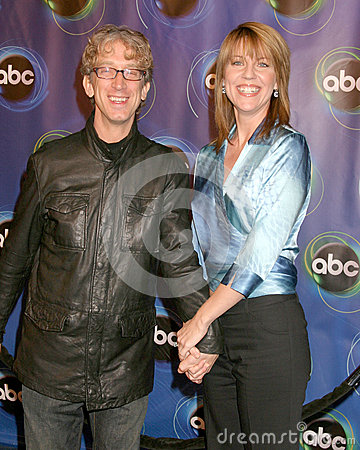 Andrea Parker,Andy Dick Editorial Image