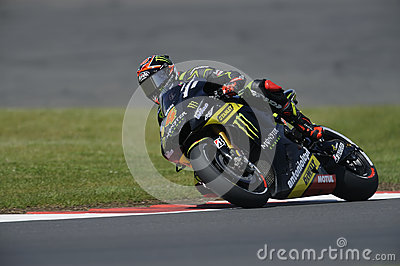 Andreas dovizioso, moto gp 2012 Editorial Stock Image