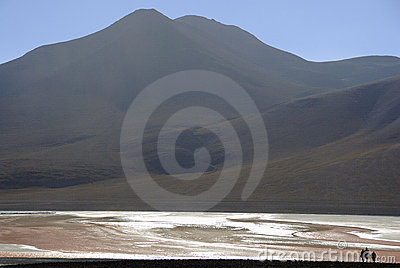Andres mountains in Bolivia