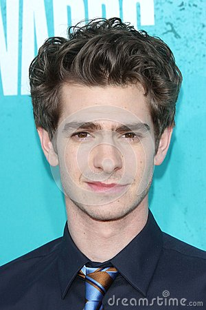 Andrew Garfield at the 2012 MTV Movie Awards Arrivals, Gibson Amphitheater, Universal City, CA 06-03-12 Editorial Image