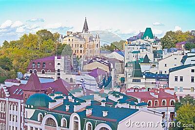 The Andrew s Descent in Kiev