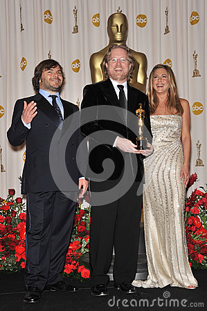 Andrew Stanton,Jack Black,Jennifer Aniston Editorial Image