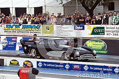 Andrew Sutton s 53 Corvette Editorial Photo