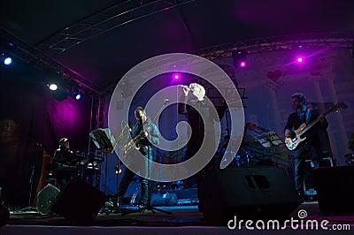 Andrey Kondakov group performs at Usadba Jazz Festival Editorial Photo