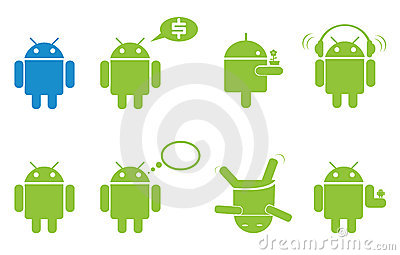Android Editorial Stock Image