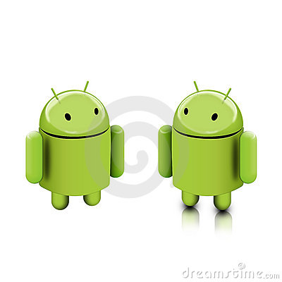 Android dude Editorial Stock Photo