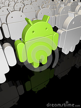 Android factory Editorial Image