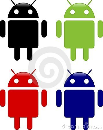 Android icons Editorial Image
