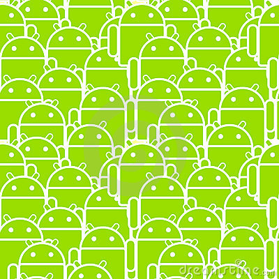 Android Mob Editorial Stock Photo