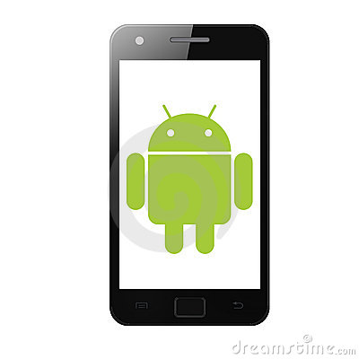 Galaxy s II, smartphone with android operating system.