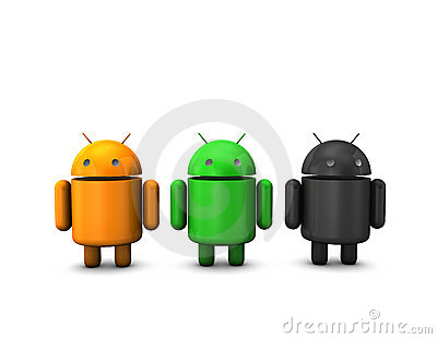 Android Robot Editorial Stock Photo