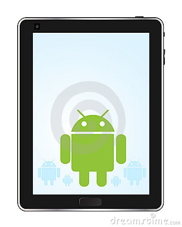 Android Tablet Editorial Image