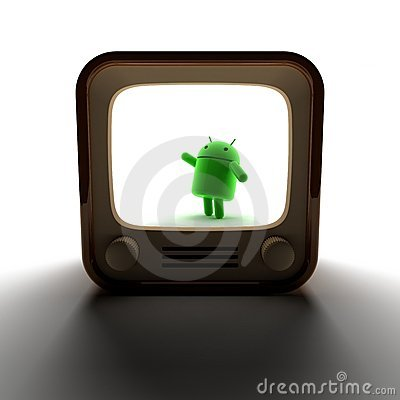 Android TV Editorial Photo